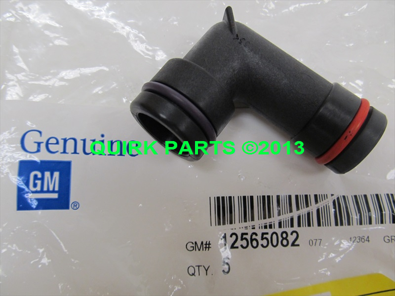 Buy 1998-2009 GM 3.8L V6 Lower Thermostat Bypass Coolant Pipe Elbow OEM NEW Genuine motorcycle ...