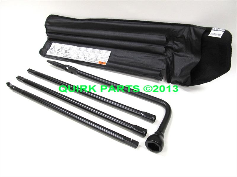 2011-2013 Chevy GMC Cadillac Spare Tire Jack & Lug Nut Tool Kit OEM NEW Genuine   eBay