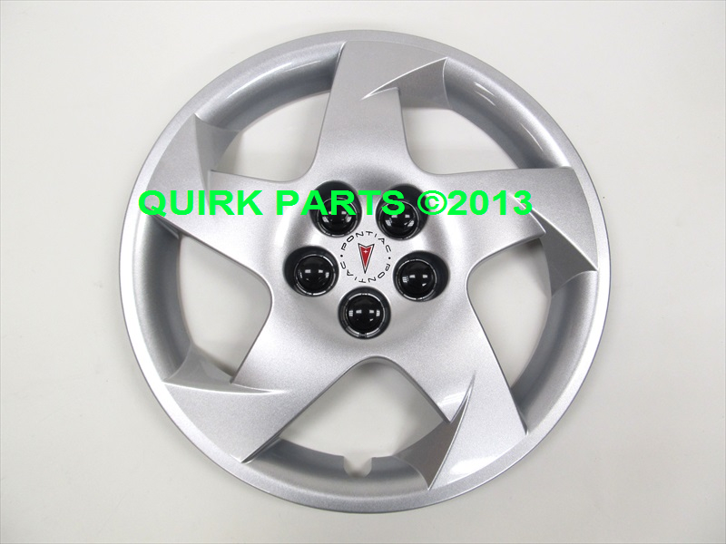 2003 2010 pontiac vibe 16 silver 5 spoke wheel hub cap. Black Bedroom Furniture Sets. Home Design Ideas