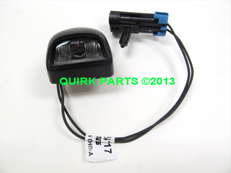 a license plate light wiring diagram for chevy traverse 2009 2011 chevy traverse rear license plate lamp w wiring ... 2008 sprinter license plate light wiring diagram
