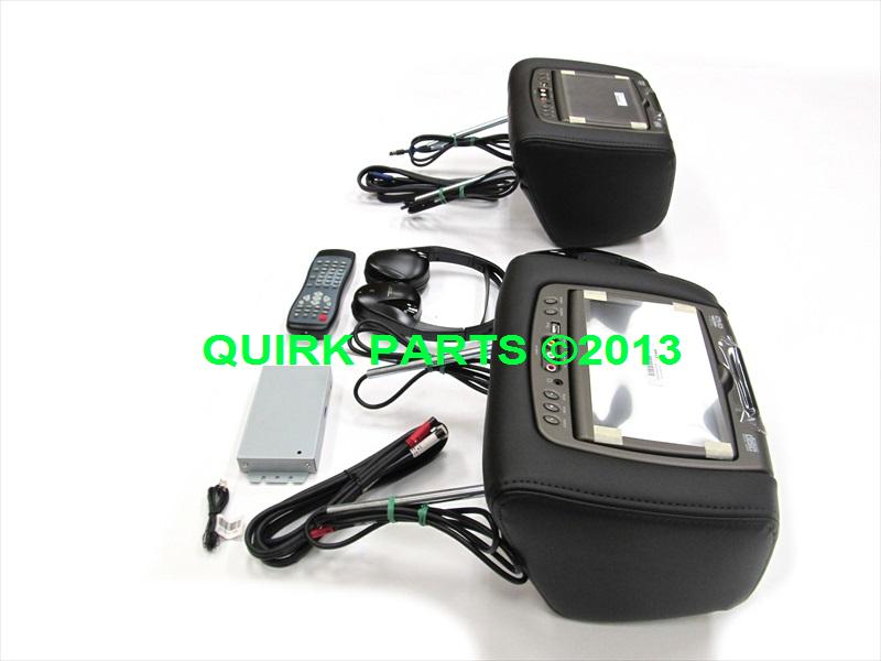 New 2013 Gmc Acadia Dual Dvd Headrest Video Players ...