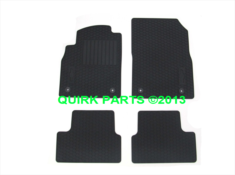 2012 2014 Chevy Cruze Premium All Weather Floor Mats Oem