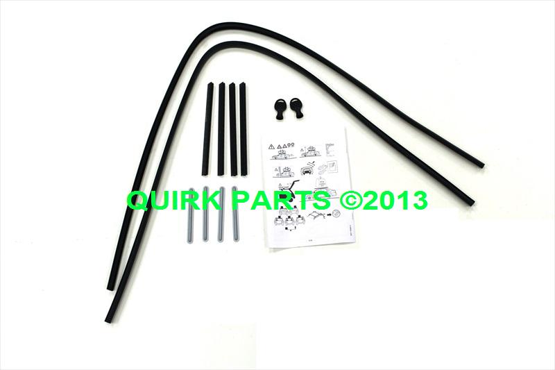 oem new roof rack cross bar rails kit 13