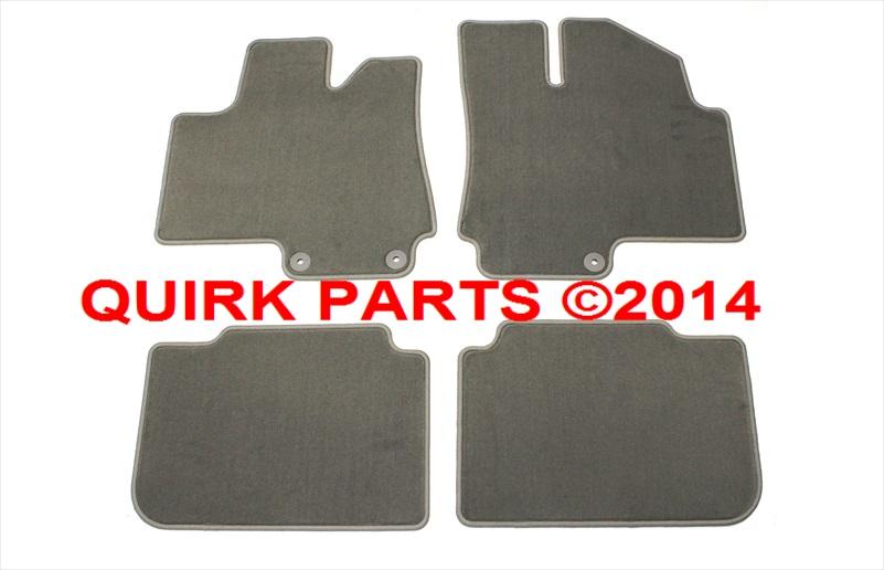 2010 2012 Cadillac Srx Front Amp Rear Titanium Grey Carpet