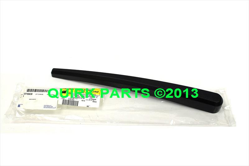 2010 2013 Chevy Equinox GMC Terrain Rear Wiper Arm Plastic Cover New
