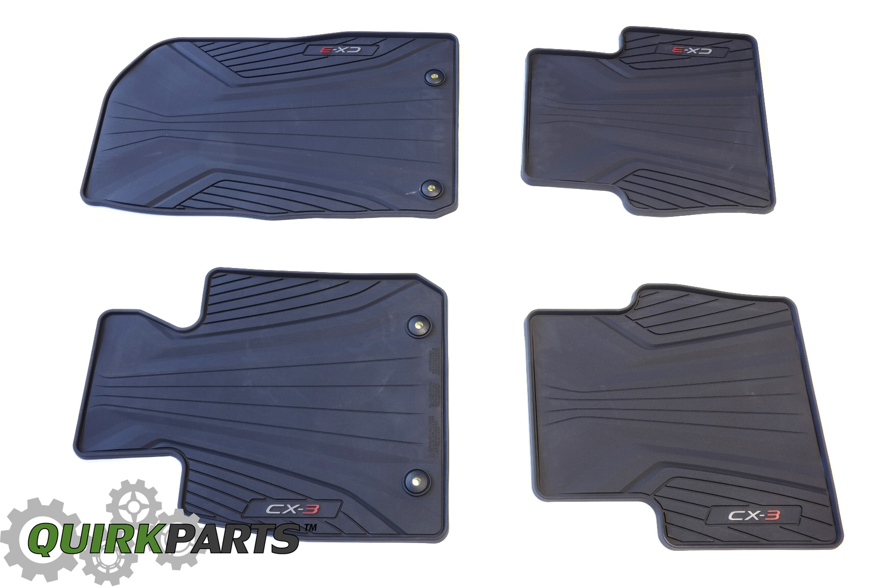 mazda with fully products tailored floor saloon mats clips car d to black