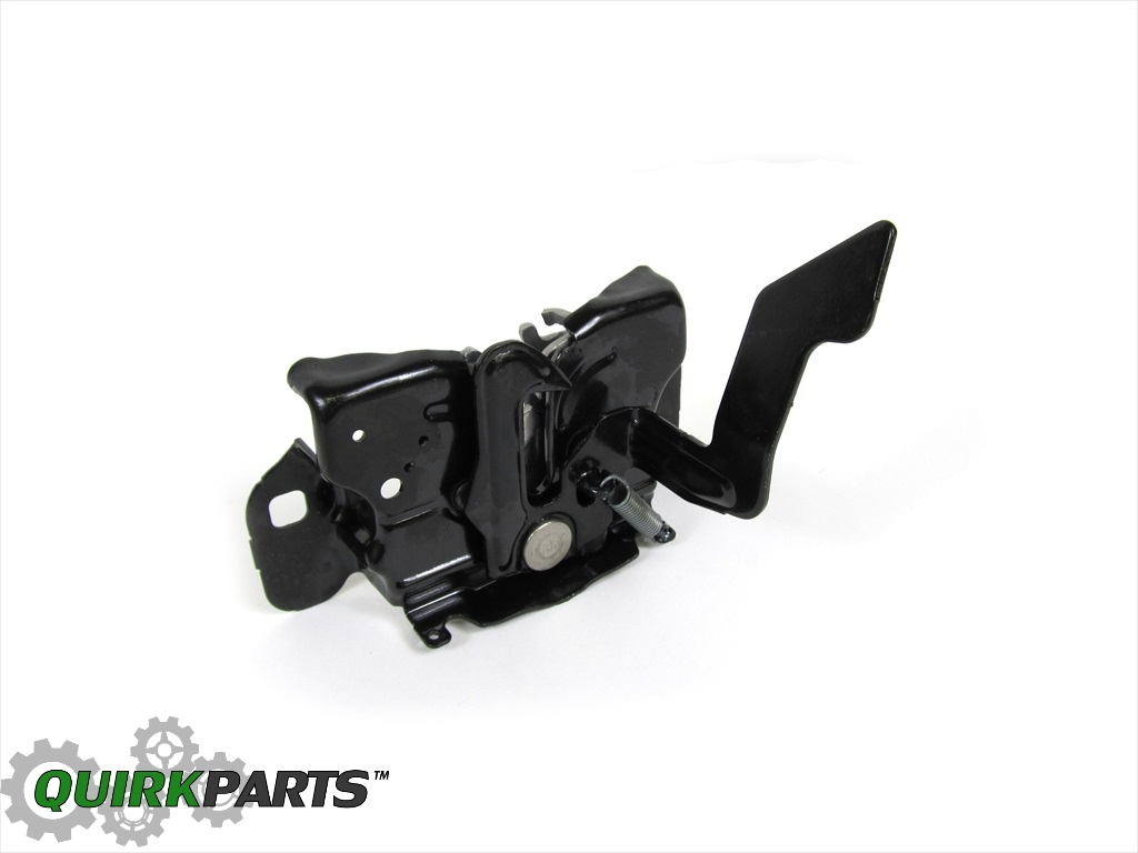 2009 2014 dodge ram 1500 hood latch oem new mopar genuine. Black Bedroom Furniture Sets. Home Design Ideas
