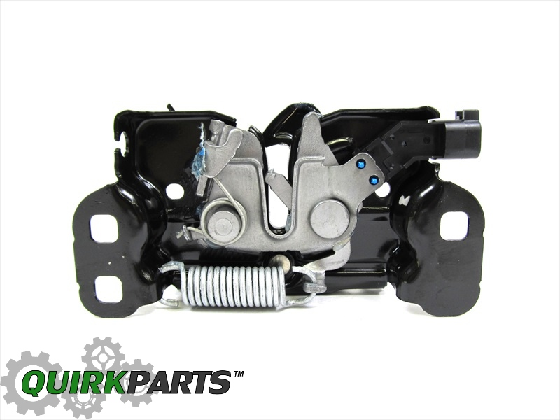 Quirk Jeep Braintree >> 11-18 JEEP GRAND CHEROKEE DODGE DURANGO HOOD LATCH LOCK OEM NEW MOPAR