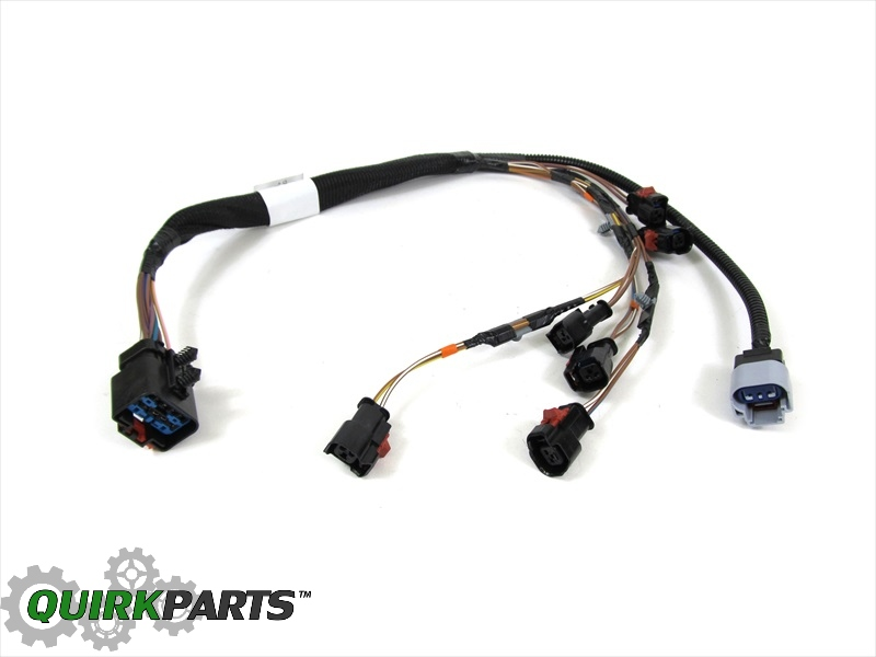 04 05 dodge caravans town country 3 3l 3 8l v6 fuel rail wiring harness mopar ebay