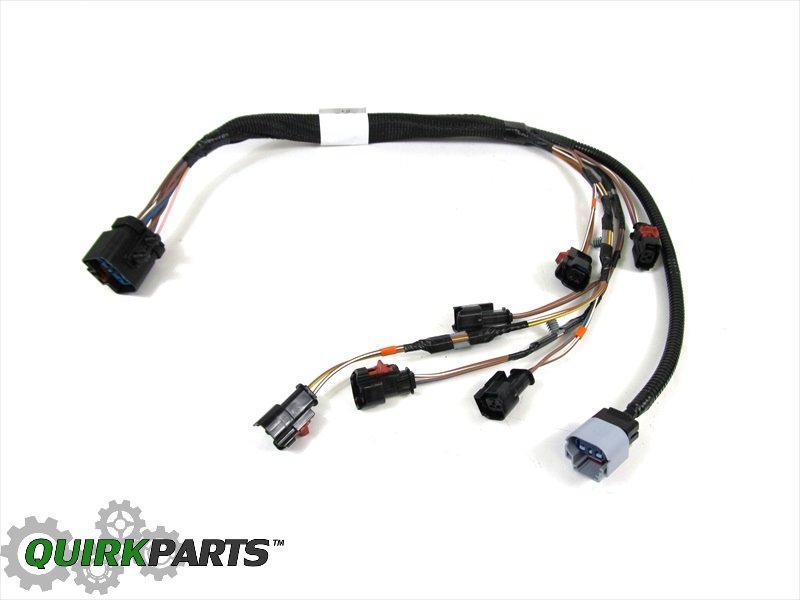 04 05 dodge caravans town country 3 3l 3 8l v6 fuel rail wiring harness mopar ebay