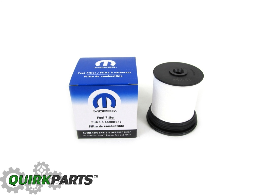 2014 2018 Jeep Grand Cherokee With 30l Diesel Fuel Filter Oem New Location Genuine Mopar Part 04726067aa