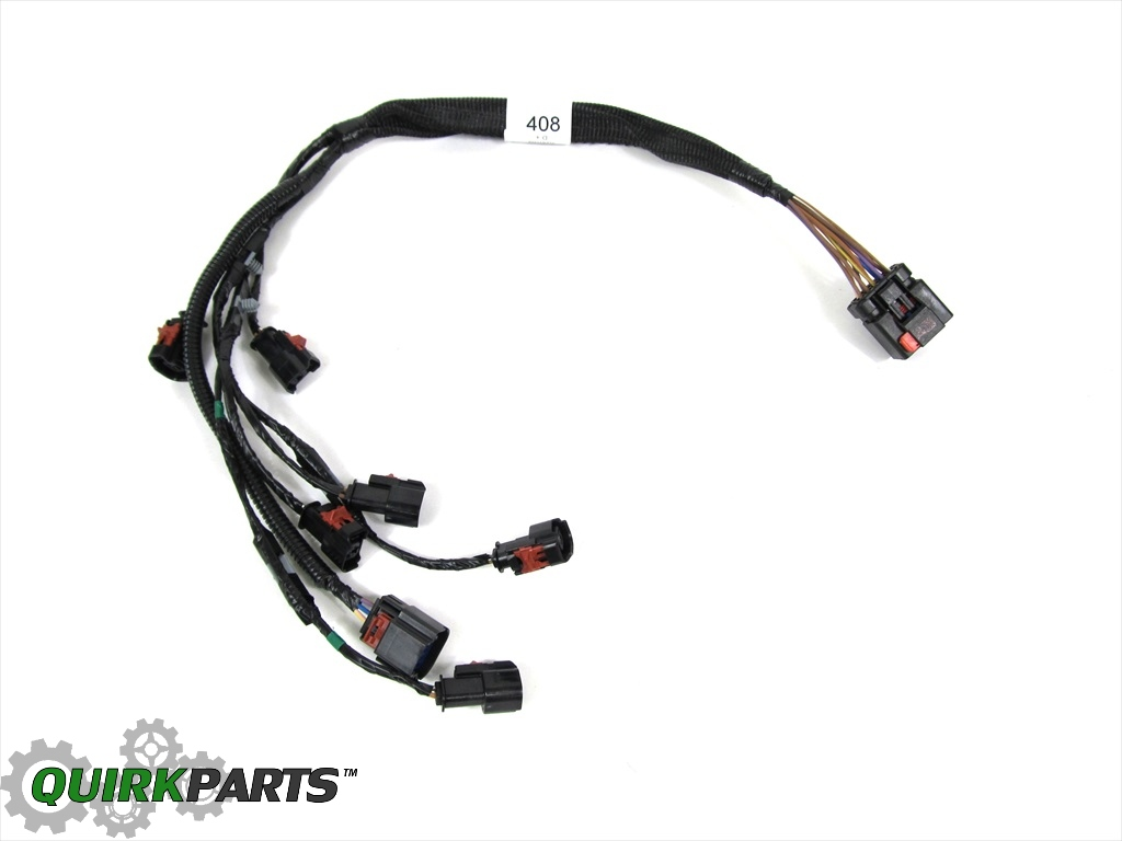 oem mopar 3 3l v6 fuel rail wiring harness dodge caravan