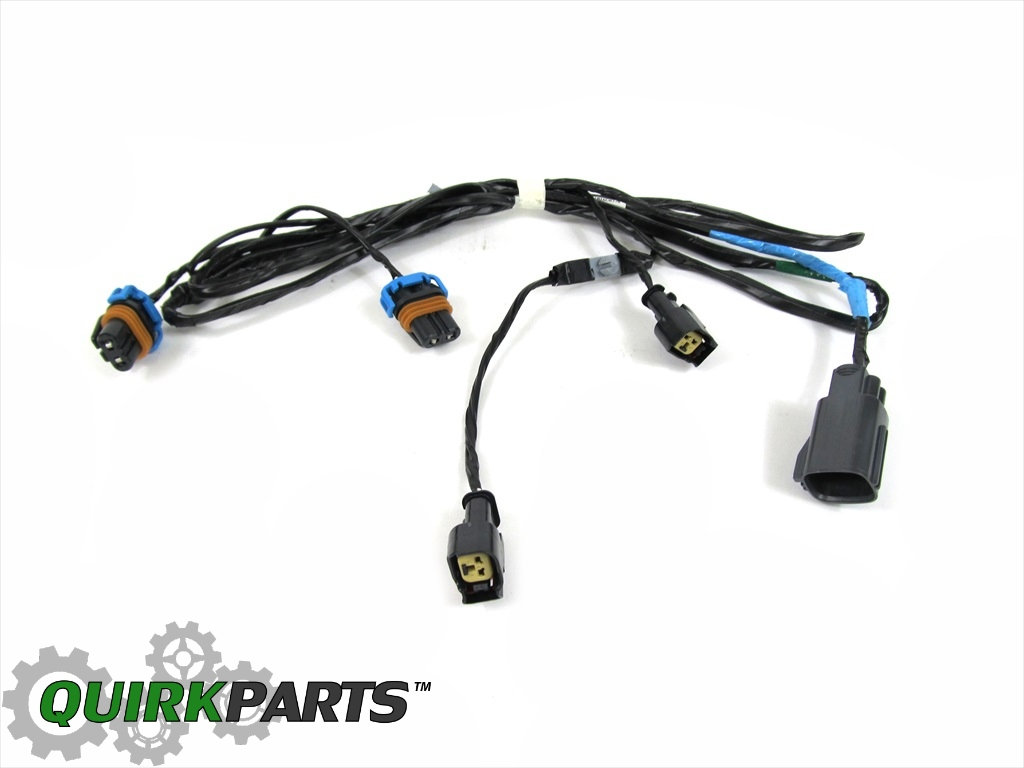 05 10 Chrysler 300 Front Fog Light Lamp Wiring Harness Oem New Mopar For Does Not Apply