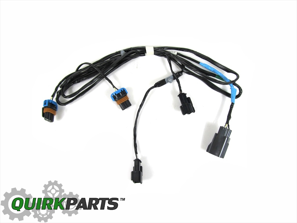 wiring harness for chrysler 300 05-10 chrysler 300 front fog light lamp wiring harness oem ... #3