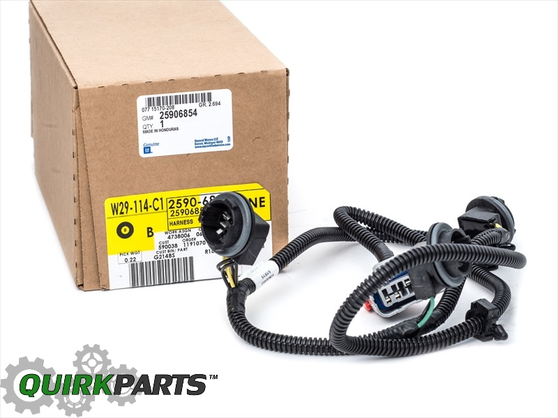 oem new rear left drivers tail light wiring harness 07 14 small