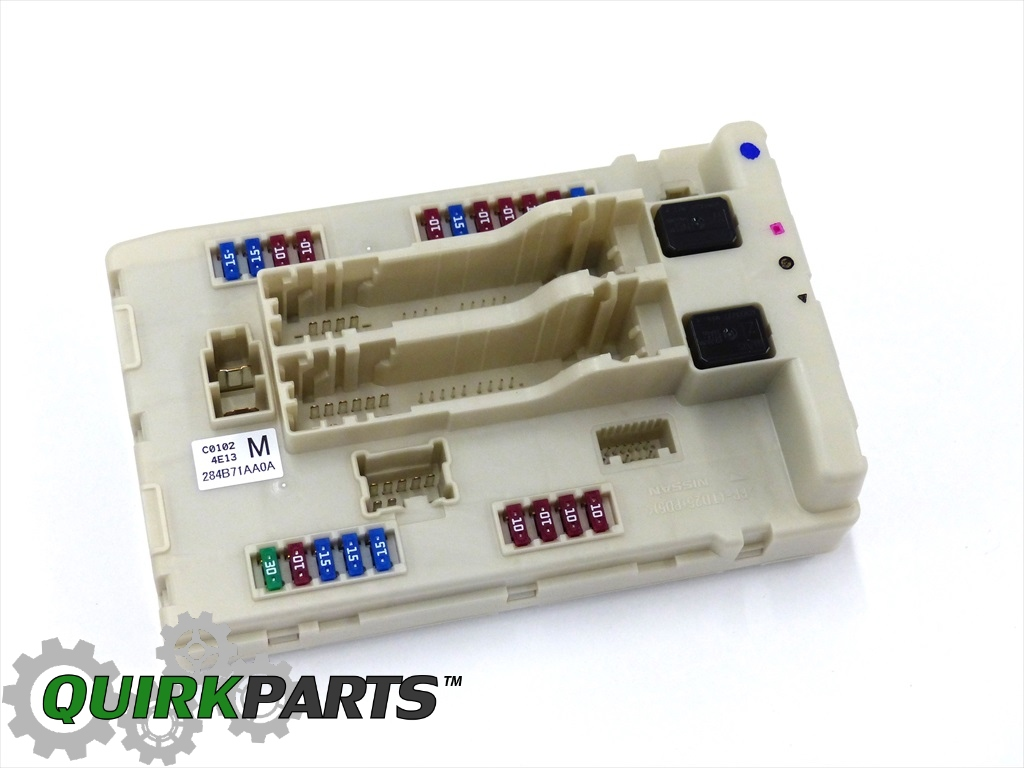 284B71AA0A_1 2008 2010 nissan altima murano maxima ipdm bcm engine control unit 2009 nissan murano fuse box at nearapp.co