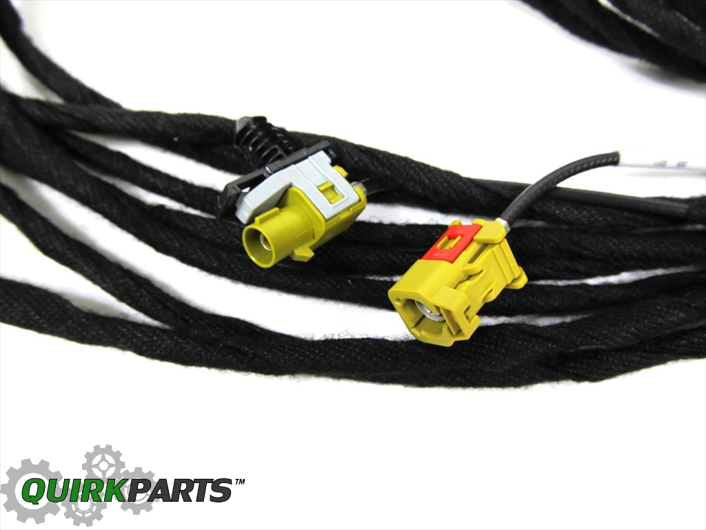 jeep dodge chrysler radio wiring harness oem new mopar. Black Bedroom Furniture Sets. Home Design Ideas