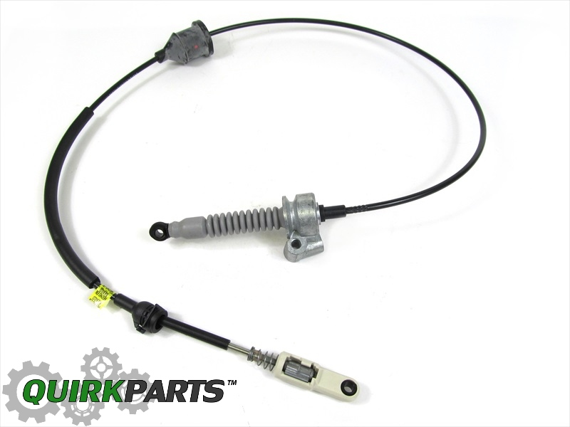 how to install 1995 chrysler lhs shift cable