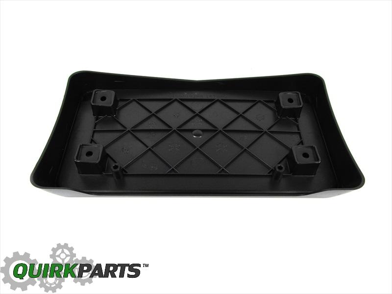 06-10 Dodge Charger FRONT LICENSE PLATE BRACKET FRAME /& SCREWS OEM NEW MOPAR