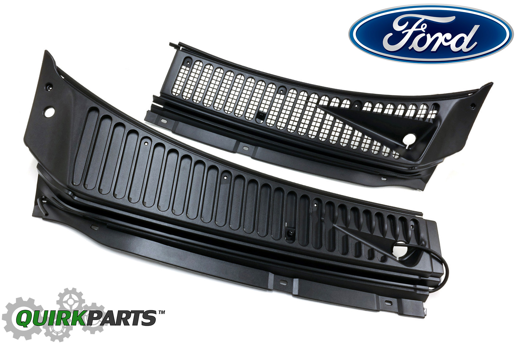 Ford f excursion windshield wiper vent cowl screen