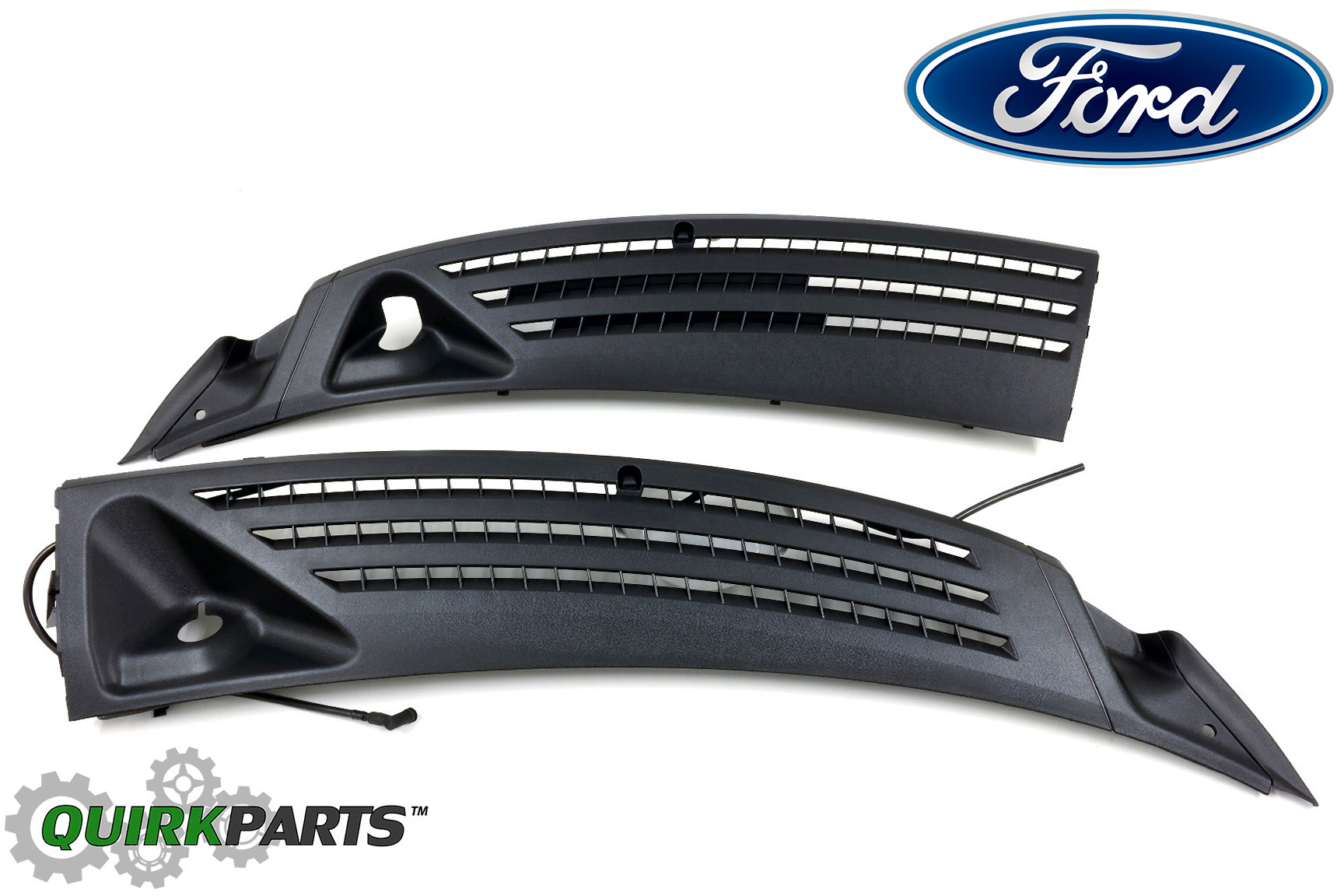 04 2008 Ford F 150 Outer Windshield Window Wiper Cowl