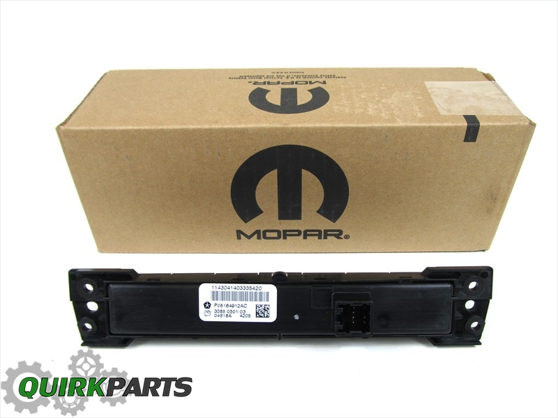 11 12 dodge ram 3500 4500 5500 dashboard auxiliary switch. Black Bedroom Furniture Sets. Home Design Ideas