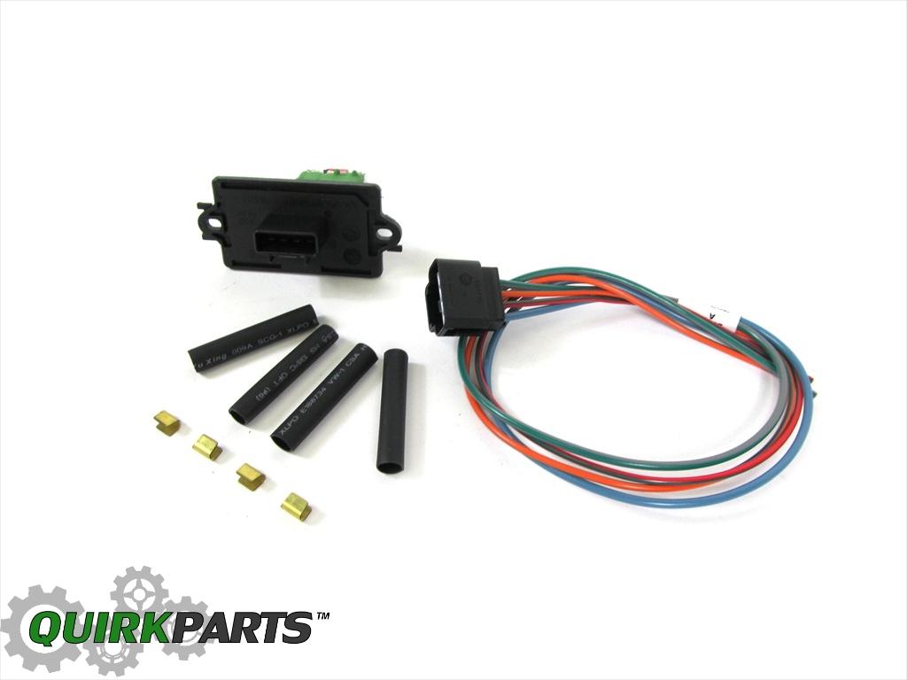Aa Aa on 2007 Jeep Grand Cherokee Blower Motor Resistor