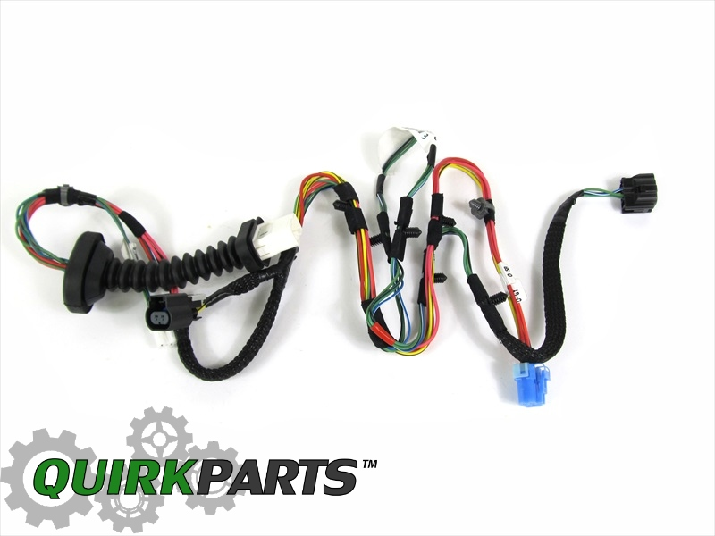 2005 dodge ram wiring harness 2006-2009 dodge ram 2500 3500 mega cab rear door wiring ...