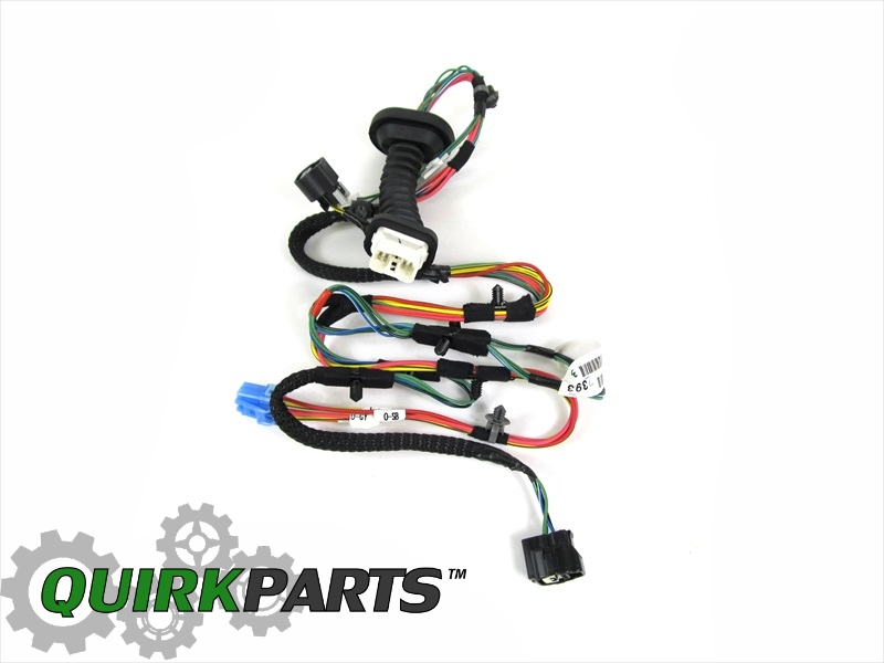 2006-2009 dodge ram 2500 3500 mega cab rear door wiring ... dodge ram wiring harness from cab back