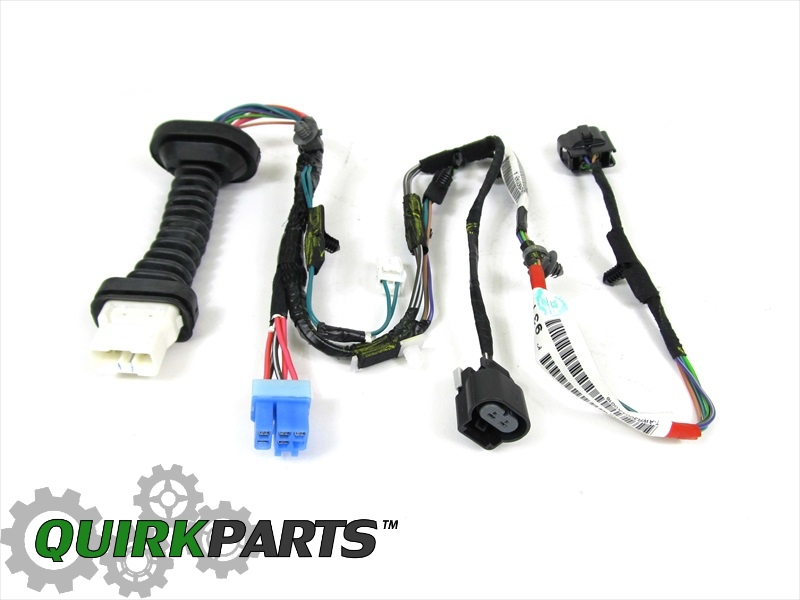56051931AB_2 dodge ram 1500 2500 rear door wiring harness right or left side Dodge Transmission Wiring Harness at bayanpartner.co