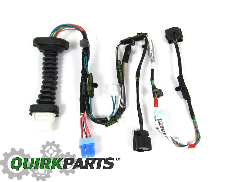 56051931AB_3 dodge ram 1500 2500 rear door wiring harness right or left side  at alyssarenee.co