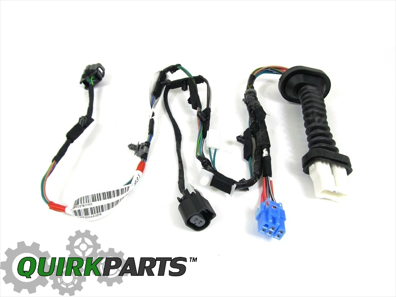 56051931AB_6 dodge ram 1500 2500 rear door wiring harness right or left side Dodge Transmission Wiring Harness at bayanpartner.co