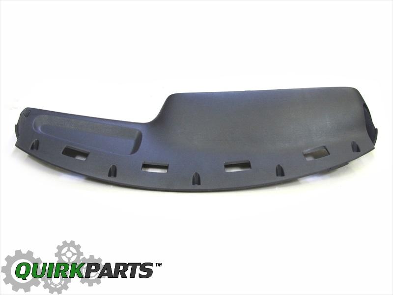 Dodge Oem Replacement Parts : Dodge ram dash panel instrument top gray mopar