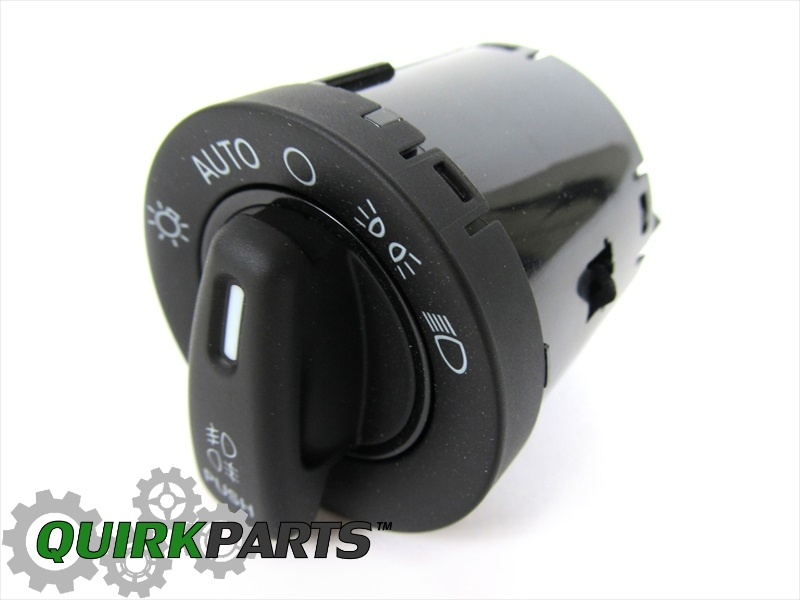 Headlight Switch Replacement : Chrysler dodge auto headlights foglights headlight