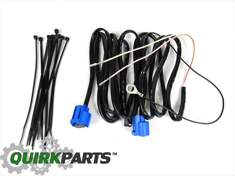 2008 Dodge Ram 1500 Fog Light Wiring Harness : Dodge ram jumper wiring harness for fog lights