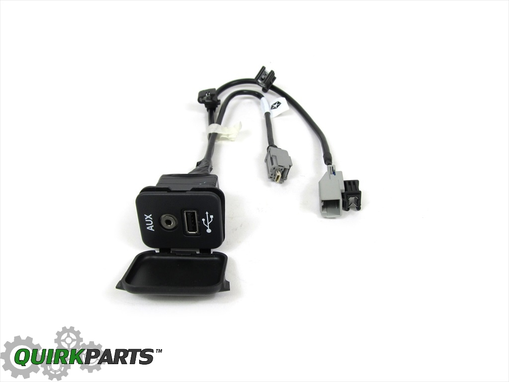 11 14 dodge charger usb port with wiring harness oe new. Black Bedroom Furniture Sets. Home Design Ideas