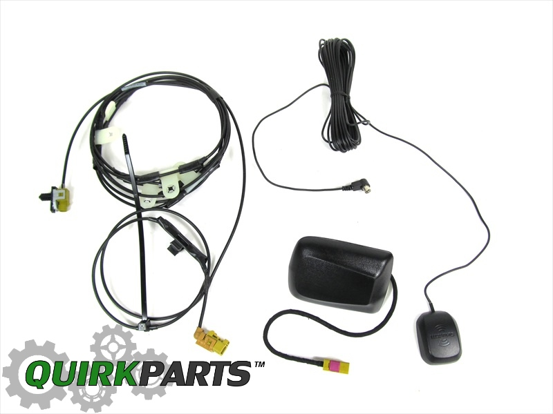 07 10 jeep wrangler satellite radio antenna wiring harness kit mopar ebay