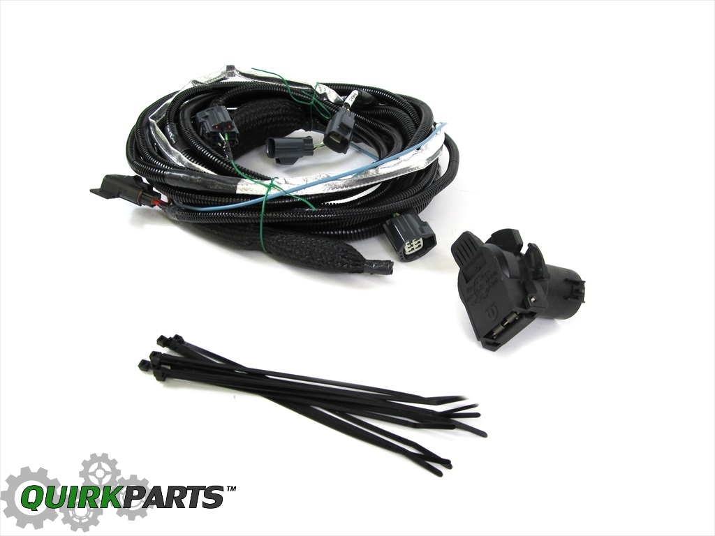 Trailer Tow Wiring Harness 82210642ad Center Jeep Liberty Dodge Nitro For Towing Oem Rh Ebay Com