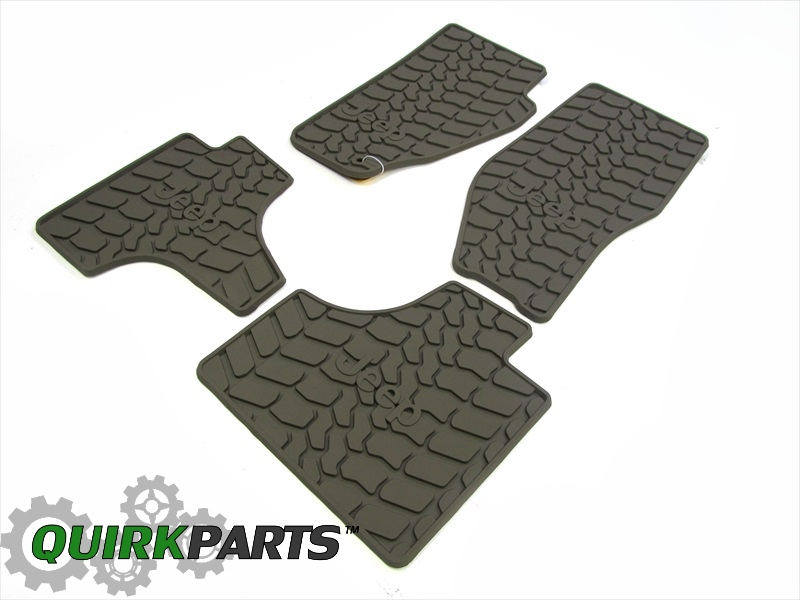 2008 2011 Jeep Liberty Set Of 4 Slush Mats Pebble Beige