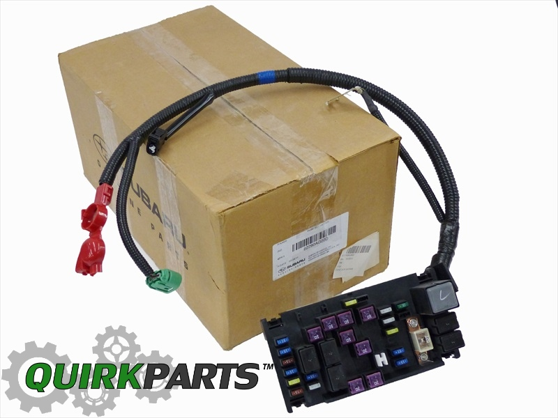 82290AG00D_1 2007 2009 subaru outback & legacy 2 5l genuine engine fuse box  at edmiracle.co