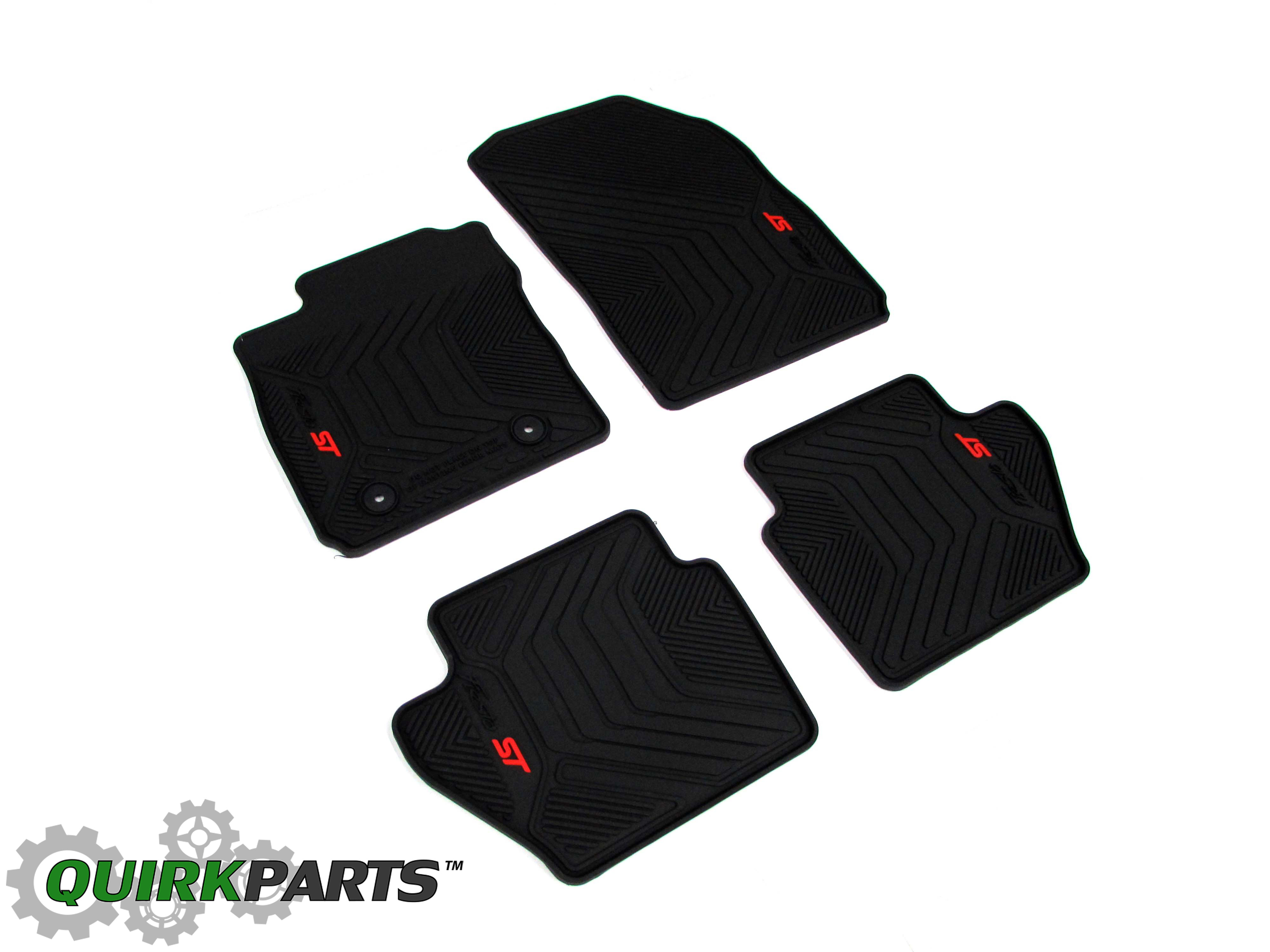 2014 2016 Ford Fiesta St All Weather Rubber Vinyl Black