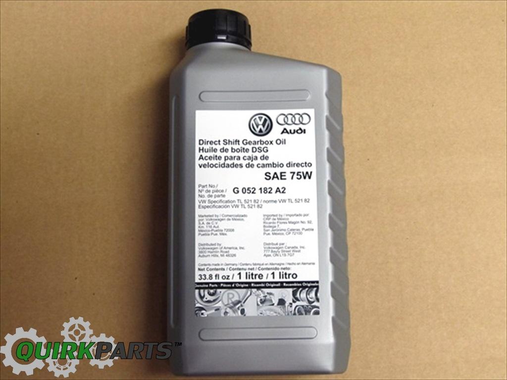 vw volkswagen 1 liter 33 8 fl oz direct shift gearbox oil