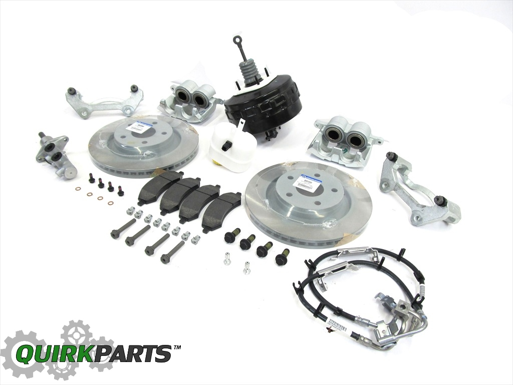 2007-2015 JEEP WRANGLER PREMIUM BIG BRAKE KIT FOR FRONT ...