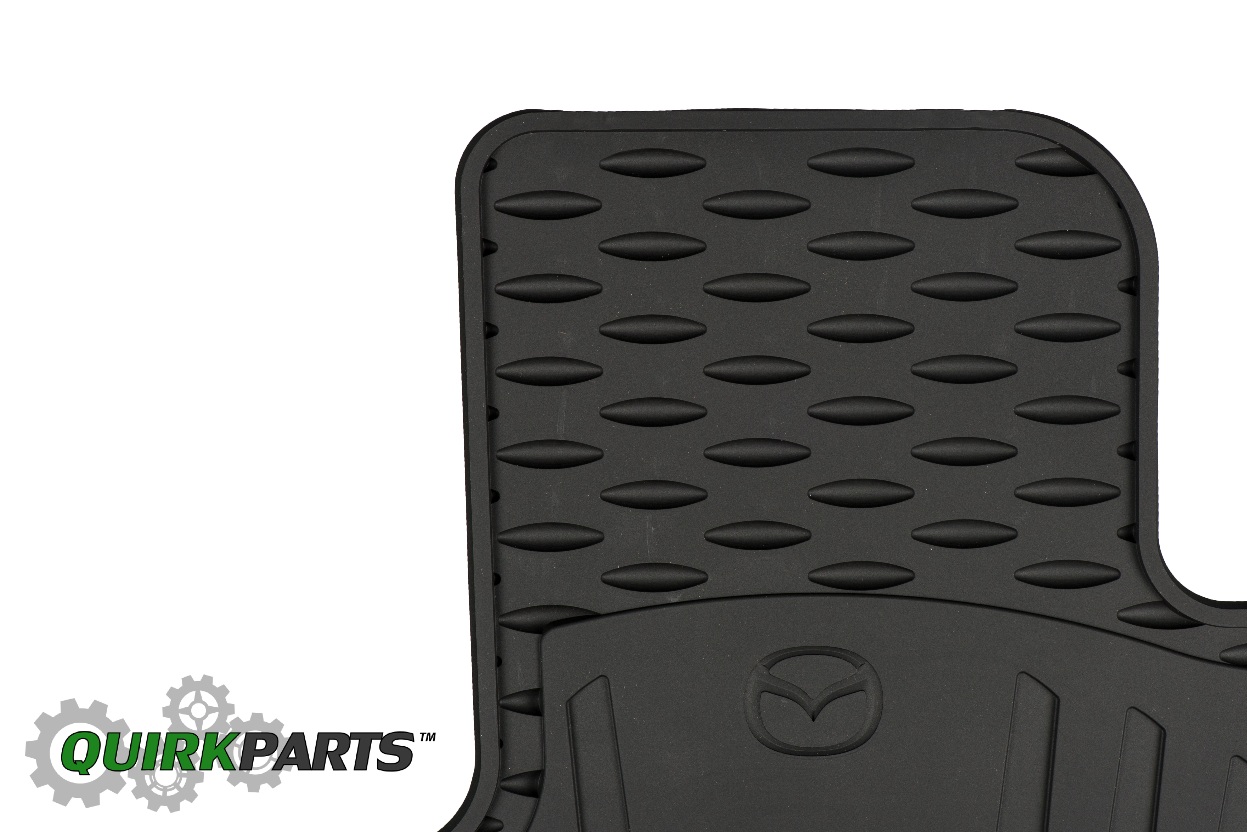 2007 2015 Mazda Cx 9 All Weather Front Floor Mats Oem New