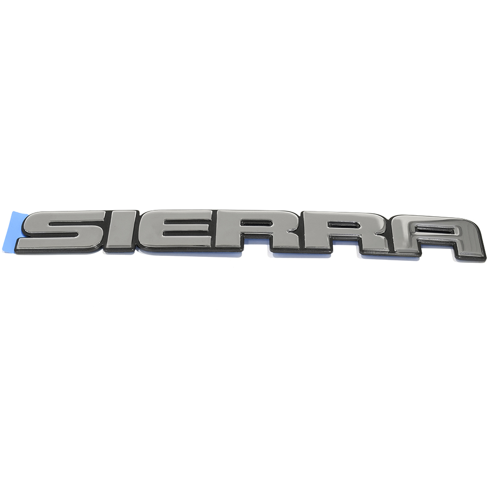 1x OEM NEW Front Door or Tailgate Sierra Emblem Nameplate Chrome 07-18