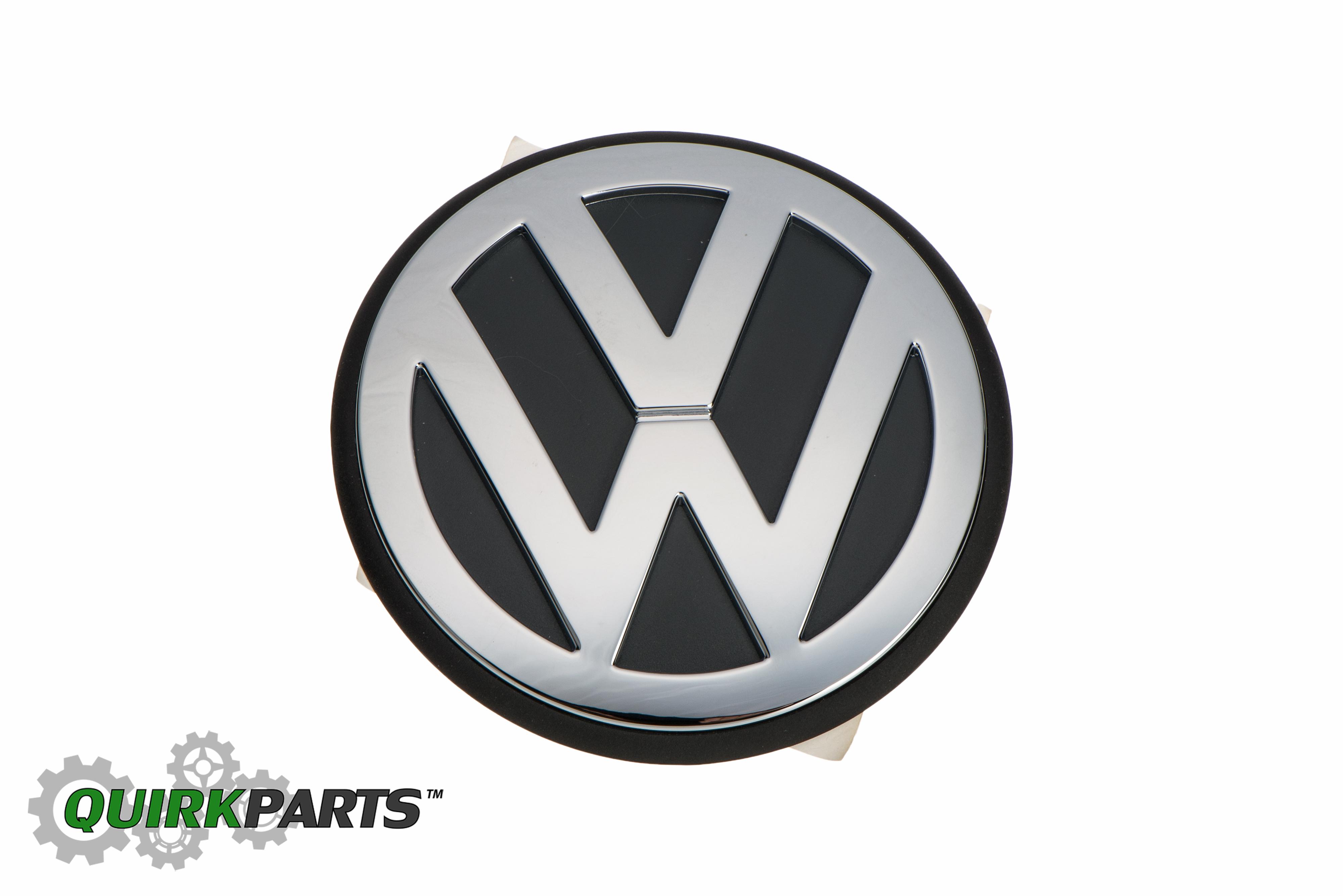 oem new vw volkswagen beetle 1 9l front hood emblem decal chrome 1998 1999 2000 ebay. Black Bedroom Furniture Sets. Home Design Ideas