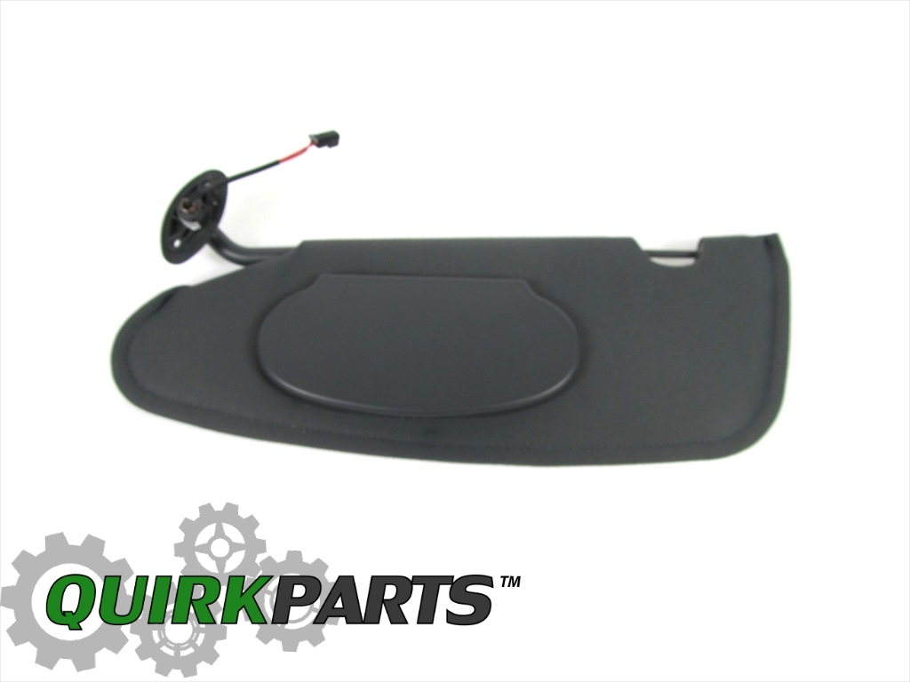 04 08 Chrysler Pt Cruiser Left Side Sun Visor With