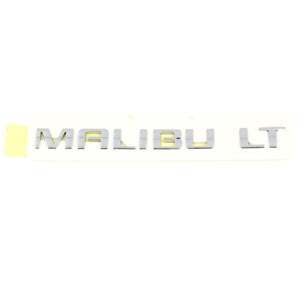 OEM GM Trunk Lid Malibu LT Emblem Nameplate Chrome 10-16 Malibu 22842006
