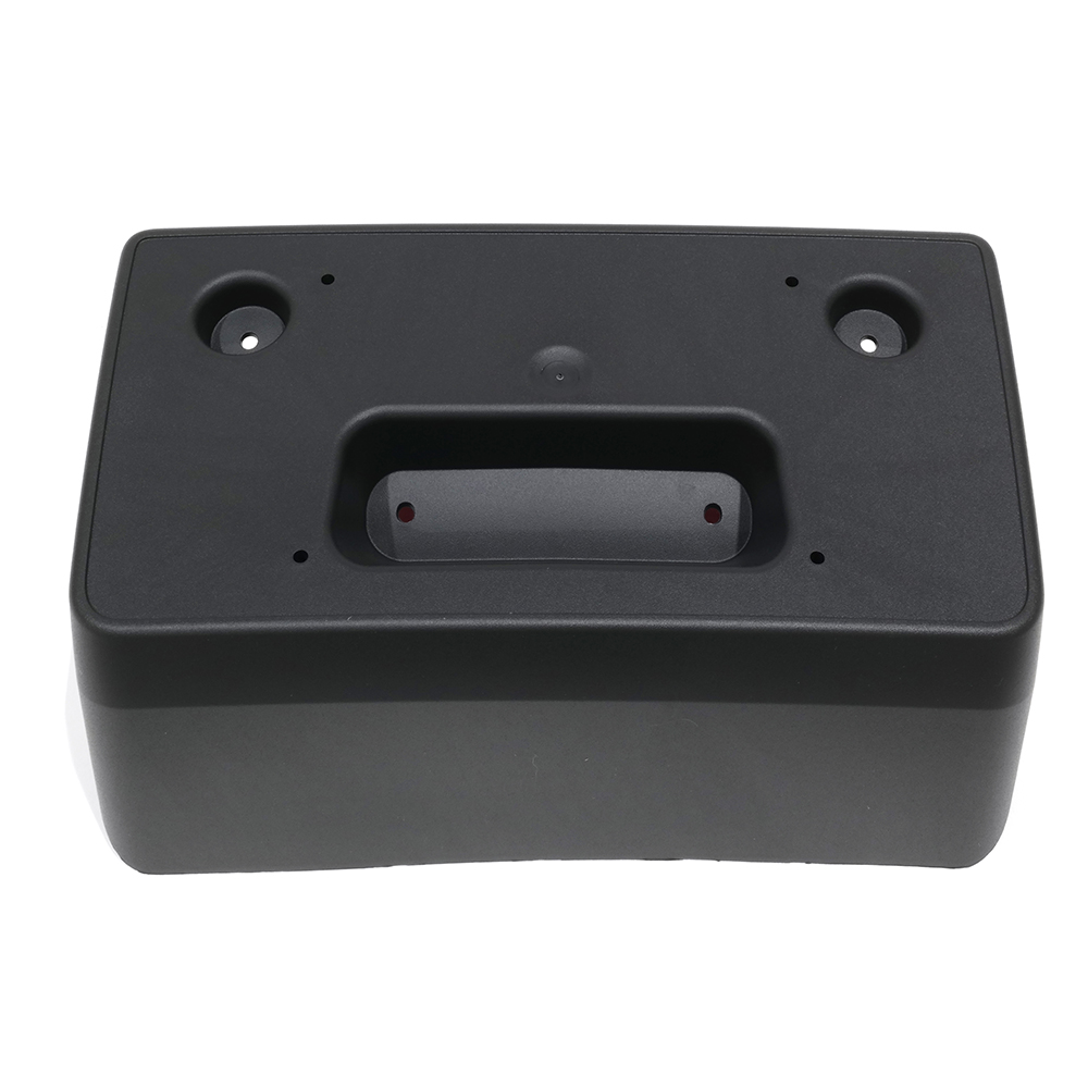 OEM NEW Front License Plate Mounting Bracket Black 2015