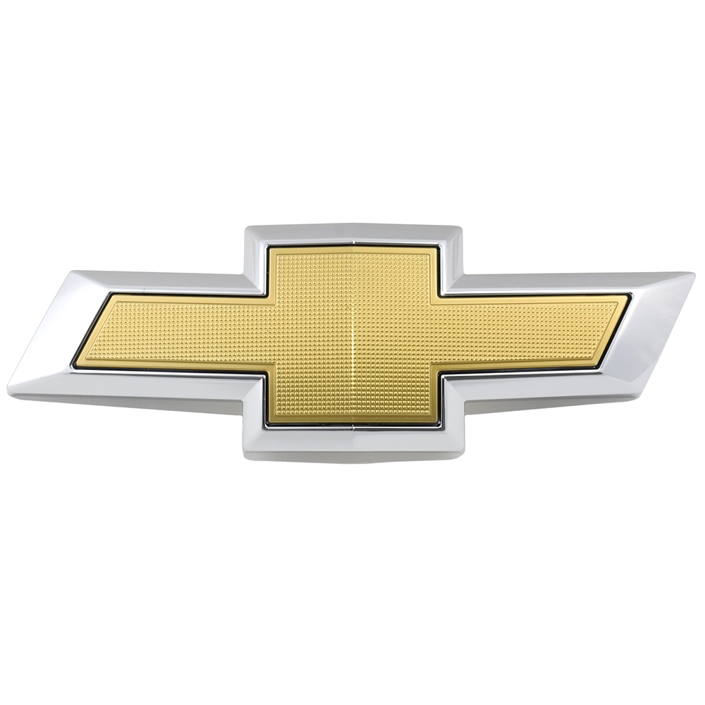 GM 23269466 2014-2015 Camaro Front Grille Chevy Bowtie Emblem in Gold /& Chrome